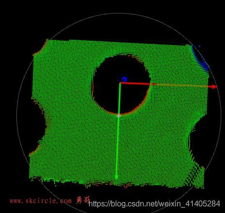 Halcon双目结构光定位(5):创建点云模板