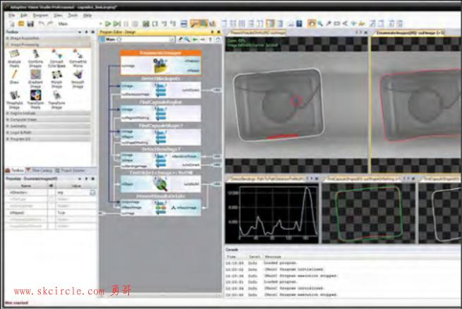 来自欧洲的一款视觉处理平台软件Adaptive Vision Studio介绍