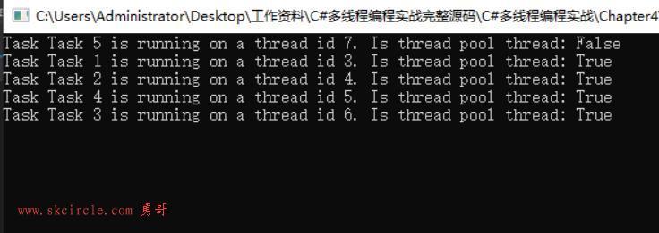C#4.0的并行库TPL,即Task(一)